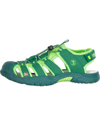 Trollkids Kids Sandal KVALVIKA dark green/light green 194-309