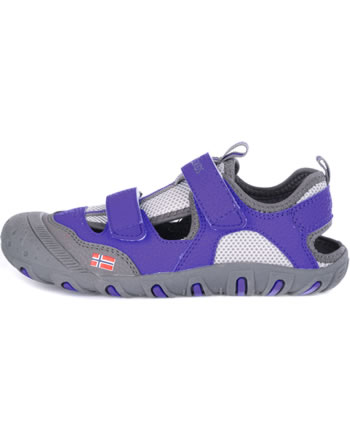 Trollkids Kids Sandal LILLESAND dark purple 190-154