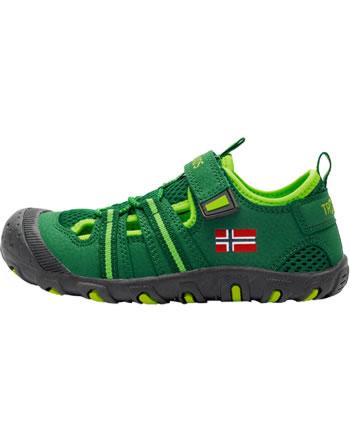 Trollkids Kids Sandal SANDEFJORD dark green/light green 153-309