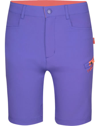 Trollkids Kids Softshell HAUGESUND dark purple/coral rose 330-154