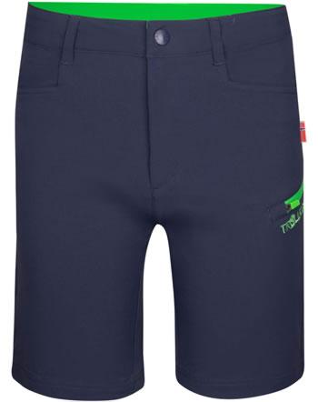 Trollkids Kids Shorts Softshell HAUGESUND navy/green 330-100