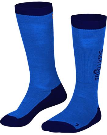 Trollkids Kids Ski-Socken 2er Pack medium blue/navy 933-108