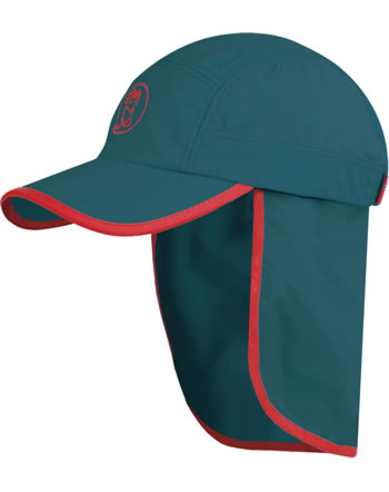 Trollkids Kids Summer cap TROLL XT petrol/spicy red 943-155