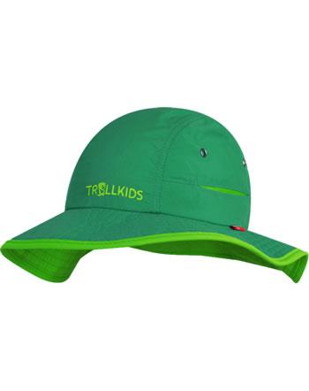 Trollkids Kids Summer Hat TROLL dark green/l. green 945-309