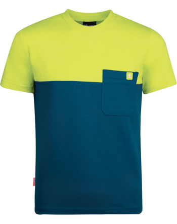 Trollkids Kids T-Shirt short sleeve BERGEN T petrol/lime 338-151