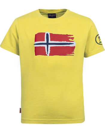 Trollkids Kids T-Shirt OSLO T sun yellow 113-700