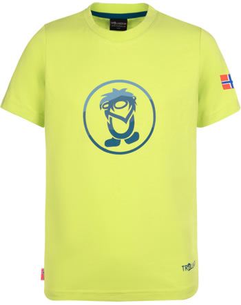 Trollkids Kids T-Shirt short sleeve SUMMER TROLL T lime/petrol 811-702