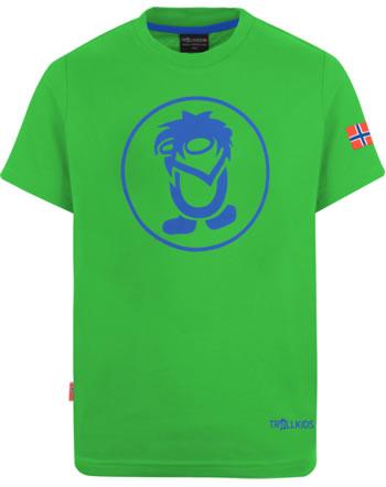 Trollkids Kids T-Shirt Kurzarm TROLL T bright green/blue 806-304