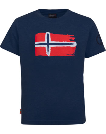 Trollkids Kids T-Shirt Kurzarm OSLO T navy 113-110