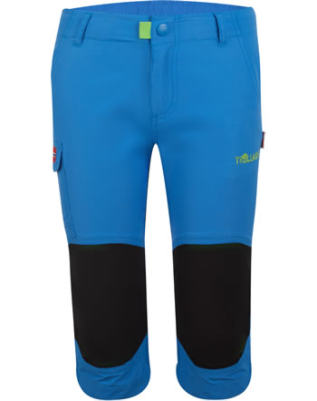 Trollkids Kids Trecking pants 3/4 HAMMERFEST med blue 167-106