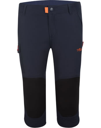 Trollkids Kids Trecking pants 3/4 HAMMERFEST navy 167-100