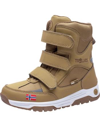 Trollkids Kids Winter Boots LOFOTEN bronze 159-805