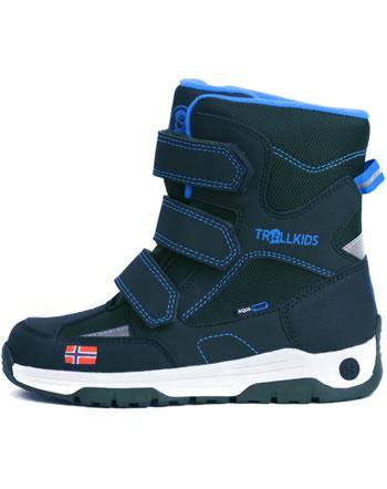 Trollkids Kids Winter Boots LOFOTEN navy/medium blue 159-117