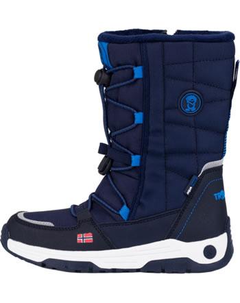 Trollkids Kids Winter Boots NORDKAPP navy/medium blue 184-117