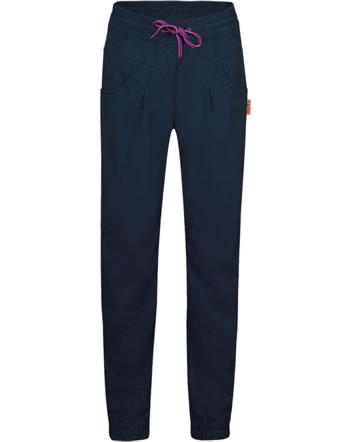 Trollkids Outdoorpants Girls OSLO SPF 30+ navy/magenta 327-114