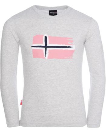 Trollkids T-Shirt Langarm KIDS OSLO LONGSLEEVE light grey 344-613
