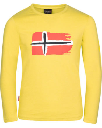 Trollkids T-Shirt Langarm KIDS OSLO sun yellow 344-700