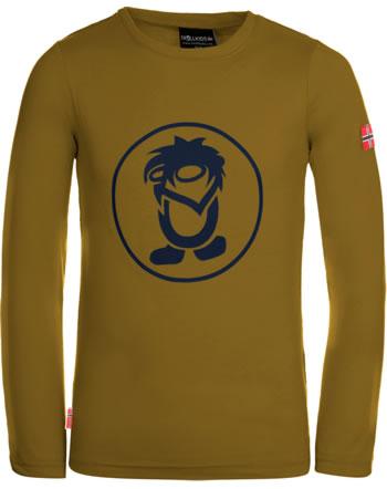 Trollkids T-Shirt Langarm KIDS TROLL LONGSLEEVE bronze/navy 343-805