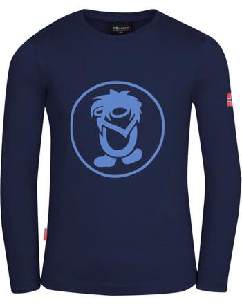 Trollkids T-Shirt Langarm KIDS TROLL LONGSLEEVE navy/medium blue 343-117