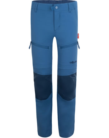 Trollkids Trekking pants Zip-Off KIDS NORDFJORD Slim Fit midnight blue 853-115