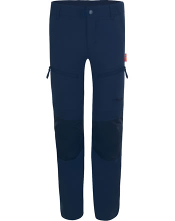 Trollkids Trekking pants Zip-Off KIDS NORDFJORD Slim Fit navy 853-100