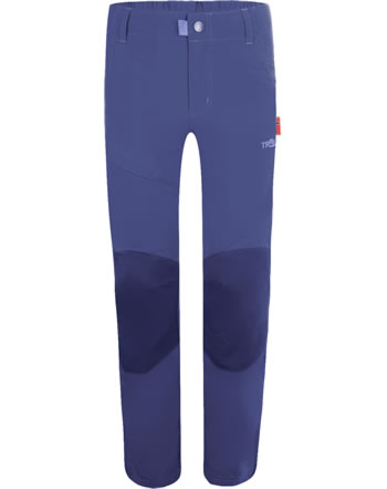 Trollkids Trekking pants KIDS HAMMERFEST PRO Slim Fit dark purple 857-154