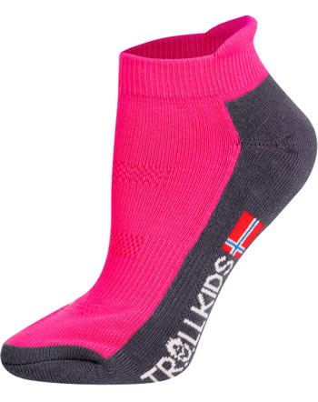 Trollkids Trekking socks HIKING LOW CUT SOCKS II magenta 929-202