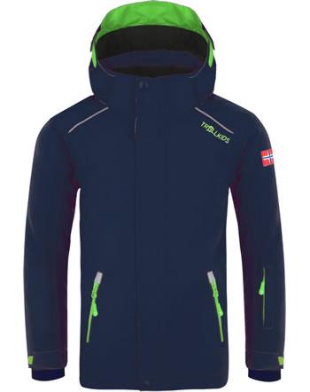 Trollkids Winter-Jacke Ski-Jacke KIDS HOLMENKOLLEN PRO navy/green 913-100