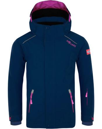 Trollkids Winter-Jacke Ski-Jacke KIDS HOLMENKOLLEN PRO navy/magenta 913-114