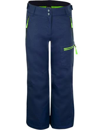 Trollkids Winter Outdoor-Hose KIDS HALLINGDAL PANT navy/bright green 228-100