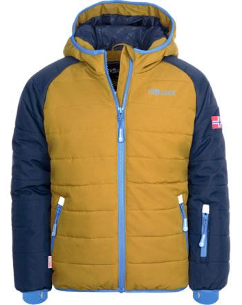 Trollkids Winter-/Ski-Jacke KIDS HAFJELL PRO navy/bronze/azure blue 514-165