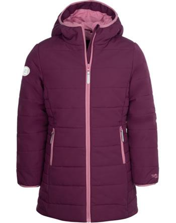Trollkids Wintermantel GIRLS STAVANGER COAT maroon red/a. rose 219-219