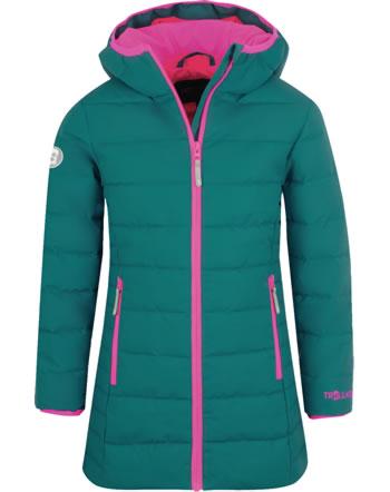 Trollkids Wintermantel Steppmantel GIRLS STAVANGER COAT smaragd/rubine 219-312