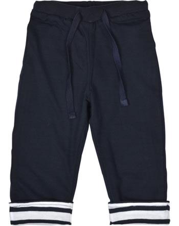Weekend à la mer pantalon de jogging réversible garçon MISTIGRI bleu marine B121.26