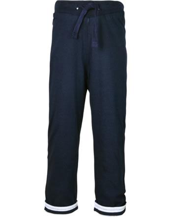 Weekend à la mer pantalon de jogging réversible garçon MISTIGRI bleu marine E121.26