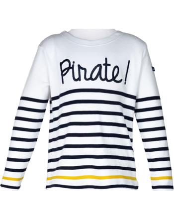 Weekend à la mer chemise garçon manches longues BEATLES MARINIERE pirate E121.18