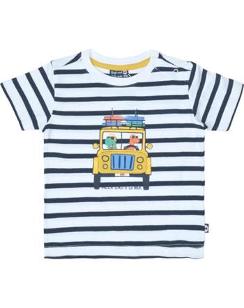 Weekend à la mer t-shirt garçon manches courtes GARNEMENT rayé B121.09