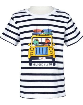 Weekend à la mer t-shirt garçon manches courtes GARNEMENT rayé E121.09