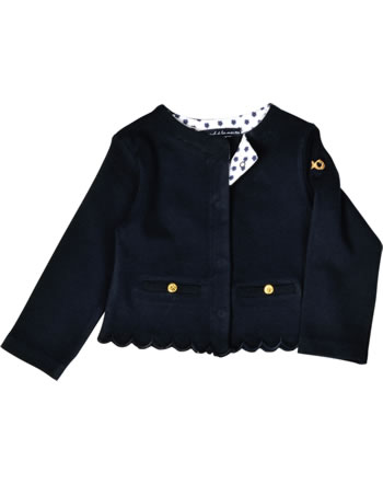 Weekend à la mer girls sweat jacket BONITA navy B121.65