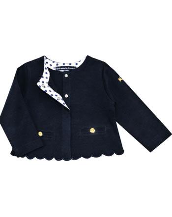 Weekend à la mer girls sweat jacket BONITA navy E121.65