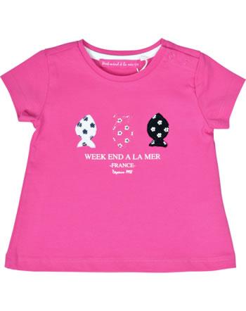 Weekend à la mer t-shirt manches courtes fille PHENOMENALE rose B121.44