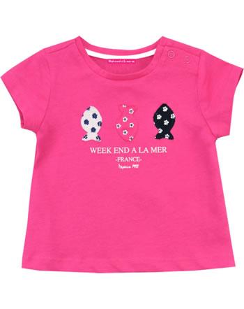Weekend a la mer t-shirt manches courtes fille PHENOMENALE rose E121.44