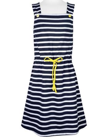 Weekend à la mer robe chasuble fille basique LOLOTTE rayé E121.B15