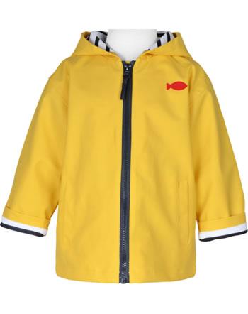 Veste de pluie avec capuche Weekend à la mer HOBY6 CIRE jaune E121.02