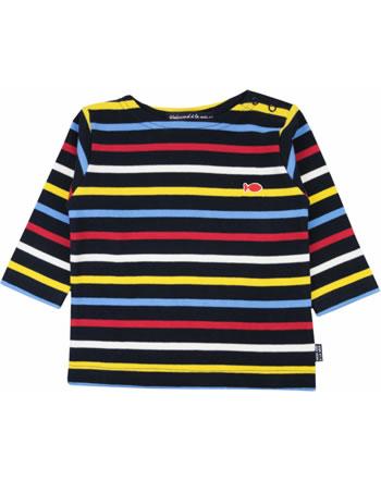 Weekend à la mer chemise manches longues basique LAROCHELLE rayé multicolore E121.B6M