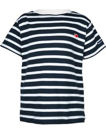Weekend à la mer T-shirt manches courtes basique QUIMPER rayé B120.B4