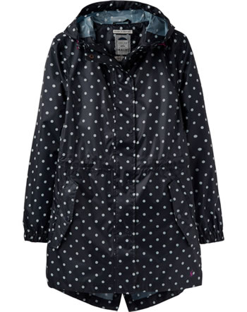 Tom Joule Waterproof coat navy spot Y_GOLIGHTLY-NAVSPOT