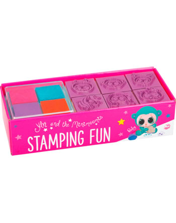 Ylvi and the Minimoomies Stempel Set Box / Stamping Fun