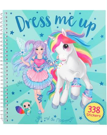 Ylvi and the Minimoomies sticker book Dress me up turquois