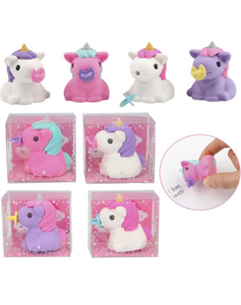 Ylvi and the Minimoomis Baby Unicorn eraser